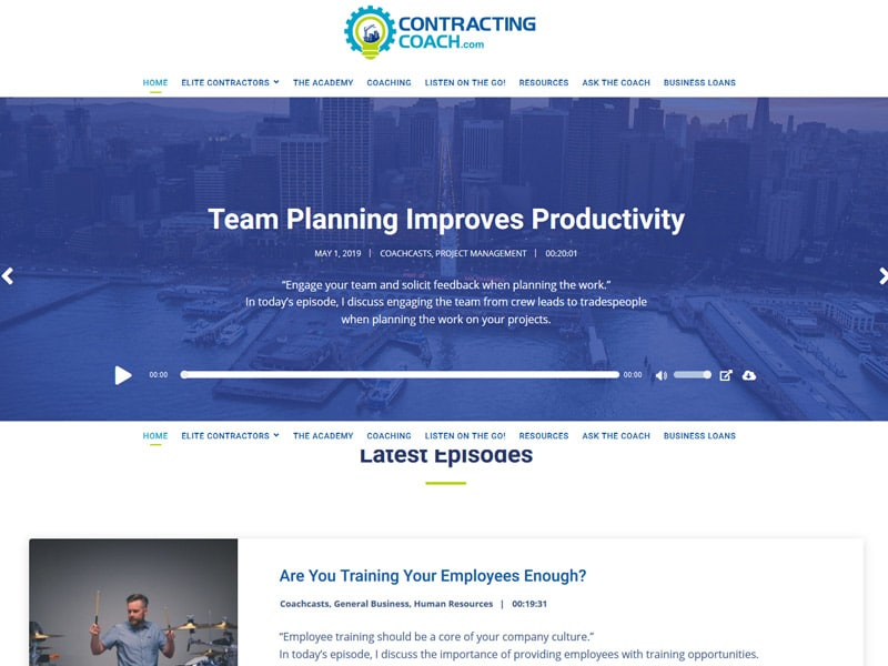 contracting coach